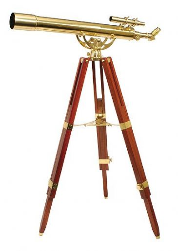 Helios Fine Brass  80900 Traditional Solid Brass Telescope